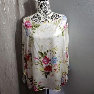 Tahari Silk Blouse